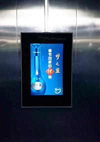 电梯框架广告
