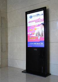 电梯等候厅电子屏广告