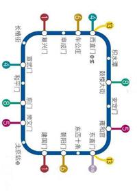 北京二号线地铁广告价格